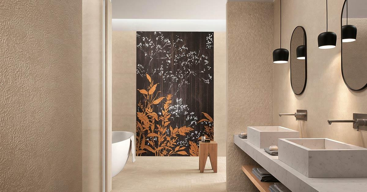 vopsea decorativa baie